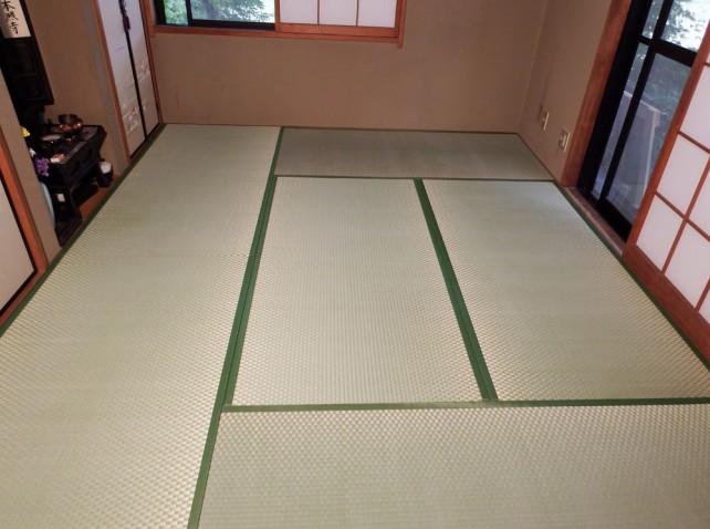和室 畳表替えafter